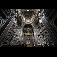 Roma (Rom), Basilica S. Maria Maggiore, Sakraments-Kapelle