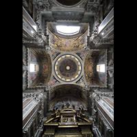 Roma (Rom), Basilica S. Maria Maggiore, Blick in die Kuppel der Sakraments-Kapelle