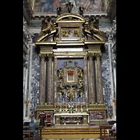 Roma (Rom), Basilica S. Maria Maggiore, Altar der Sakraments-Kapelle