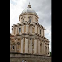 Roma (Rom), Basilica S. Maria Maggiore, Außenansicht von der Seite