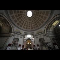 Roma (Rom), Basilica S. Maria degli Angeli e dei Martiri, Kuppel im Vorraum