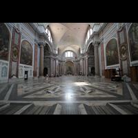 Roma (Rom), Basilica S. Maria degli Angeli e dei Martiri, Innenraum