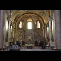 Roma (Rom), Basilica S. Maria degli Angeli e dei Martiri, Chorraum