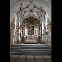 Muri, Klosterkirche (Chorpositiv), Altarraum