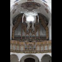 Muri, Klosterkirche (Chorpositiv), Hauptorgel