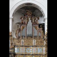 Muri, Klosterkirche (Hauptorgel), Prospekt der Epistelorgel