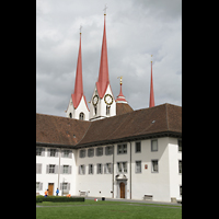 Muri, Klosterkirche (Hauptorgel), Türme und Klosteranlage