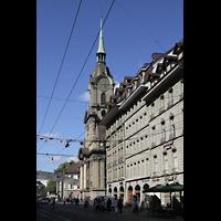 Bern, Heilig-Geist-Kirche, Straßenansicht