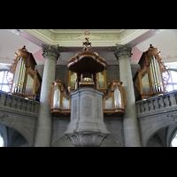 Bern, Heilig-Geist-Kirche, Orgelempore