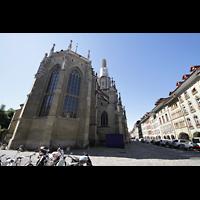 Bern, Münster St. Vinzenz (Forschungsorgel), Chor von außen