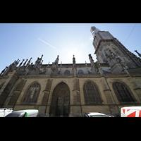 Bern, Münster St. Vinzenz (Forschungsorgel), Seitenansicht mit Turm