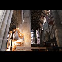 Bern, Münster St. Vinzenz (Forschungsorgel), Forschungsorgel in der Vierung und Chororgel