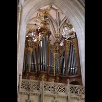 Bern, Münster St. Vinzenz (Forschungsorgel), Hauptorgel seitlich gesehen