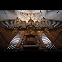 Bern, Münster St. Vinzenz (Forschungsorgel), Hauptorgel perspektivisch
