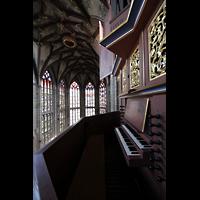 Bern, Münster St. Vinzenz (Forschungsorgel), Chororgelempore
