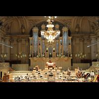 Zürich, Tonhalle, Orgel