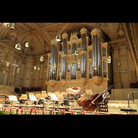 Zürich, Tonhalle, Orgel und Konzertempore