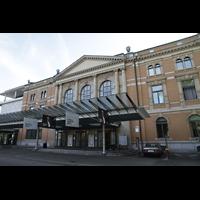 Zürich, Tonhalle, Außenansicht, Haupteingang