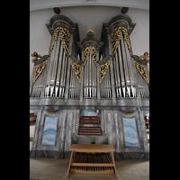 Horw (bei Luzern), St. Katharina, Orgel mit Spieltisch