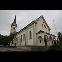 Horw (bei Luzern), St. Katharina, Außenansicht