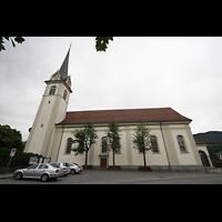 Horw (bei Luzern), St. Katharina, Seitenansicht