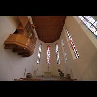 Aarau, Stadtkirche, Chororgel im Chorraum