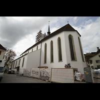 Aarau, Stadtkirche, Außenansicht