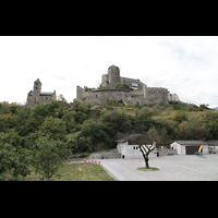 Sion (Sitten), Notre-Dame-de-Valère (Burgkirche), Berg der Burg und Burgkirche von Valère