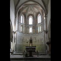 Sion (Sitten), Notre-Dame-de-Valère (Burgkirche), Chor