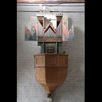 Sion (Sitten), Notre-Dame-de-Valère (Burgkirche), Orgel