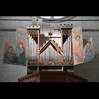 Sion (Sitten), Notre-Dame-de-Valère (Burgkirche), Orgelprospekt