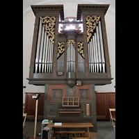 Sion (Sitten), St. Theodul, Orgel mit Spieltisch