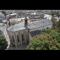 Sion (Sitten), St. Theodul, St. Theodul vom Turm der Kathedrale aus gesehen