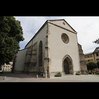 Sion (Sitten), St. Theodul, Fassade