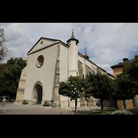 Sion (Sitten), St. Theodul, Außenansicht