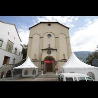 Sion (Sitten), Jesuitenkirche (Konzertsaal), Fassade