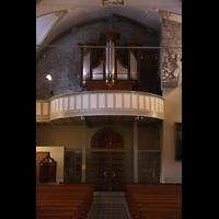 Conthey, Saint-Séverin, Orgelempore