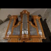 Conthey, Saint-Séverin, Orgel perspektivisch