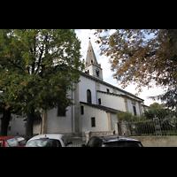 Martigny, Notre-Dame de la Visitation, Außenansicht mit Portal