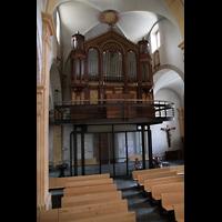 Martigny, Notre-Dame de la Visitation, Orgelempore