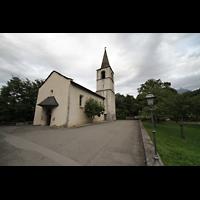 Choëx, Saint-Silvestre, Außenansicht mit Portal