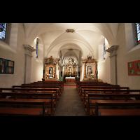 Choëx, Saint-Silvestre, Innenraum in Richtung Chor