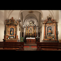 Choëx, Saint-Silvestre, Chorraum
