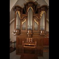 Choëx, Saint-Silvestre, Orgel mit Spieltisch