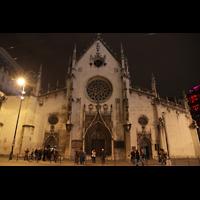 Lyon, Saint-Bonaventure, Außenansicht bei Nacht