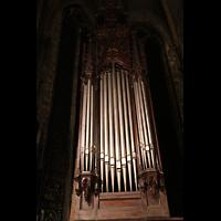 Lyon, Saint-Bonaventure, Prospekt des linken Orgelturms