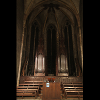 Lyon, Saint-Bonaventure, Chorraum mit Orgel
