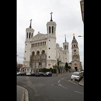 Lyon, Notre-Dame de Fourvière, Außenansicht