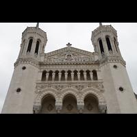 Lyon, Notre-Dame de Fourvière, Fassaden-Detail