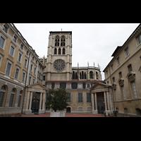 Lyon, Cathédrale Saint-Jean (Chororgel), Seitenansicht